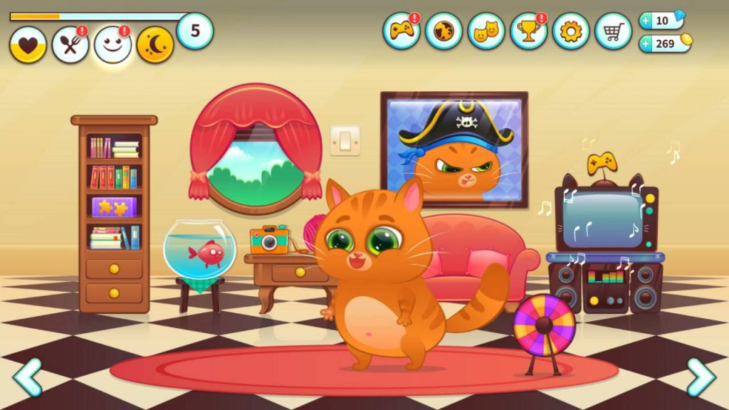Игры Котик Бубу
