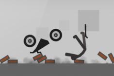 stickman-dismounting