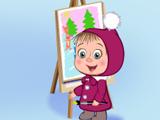 Маша и Медведь: Кто нарисовал?