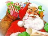 Новый Год: Пазлы Дед Мороз